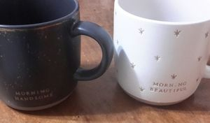 NWOT Stoneware Coffee Mugs